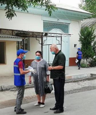 """""""Юные  волонтёры""""  в  Балыкчинском  районе"""
