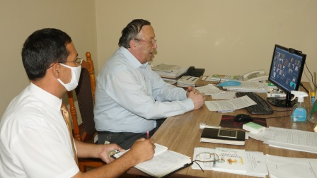 Meeting of the Scientific Council of Andijan State Medical Institute  on the eve of the new academic year