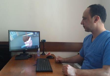 """Andijon davlat tibbiyot instituti vakillari """"РОСОМЕД -2020"""" sovrindorlari"""