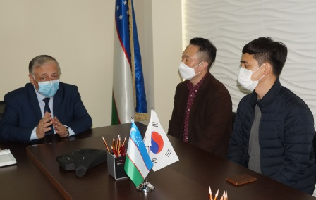 International cooperation of Andijan State Medical Institute and Korean higher education institutions are expanding