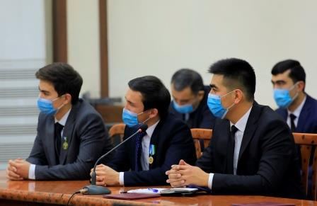 NEXT MEETING OF THE KHOKIM AND YOUTH HELD AT ANDIJAN STATE MEDICAL INSTITUTE