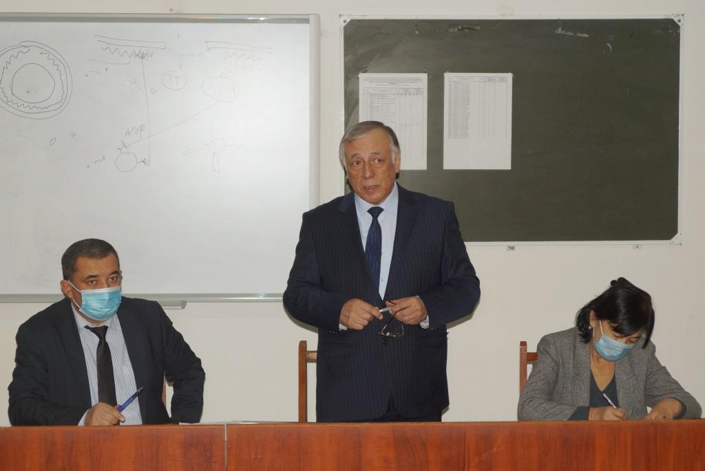 THE NEXT MEETING OF THE SCIENTIFIC COUNCIL OF ANDIJAN STATE MEDICAL INSTITUTE WAS HELD