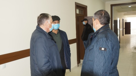 Construction and repair works are in full swing at Andijan State Medical Institute