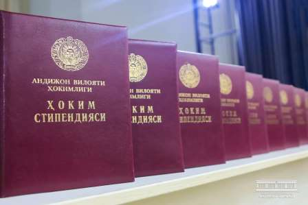 """The young people were awarded the """"Khakim Governor's Scholarship"""""""