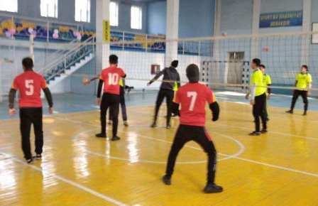 Andijan State Medical Institute hosted inter-group sports competitions among students