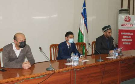 """Andijan State Medical Institute hosted a roundtable discussion on """"Negative consequences of extremism and terrorism."""""""