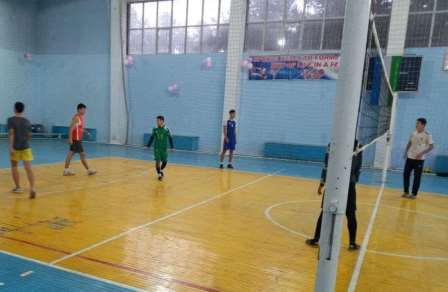 Andijan State Medical Institute hosted volleyball competitions among the youth of the makhalla
