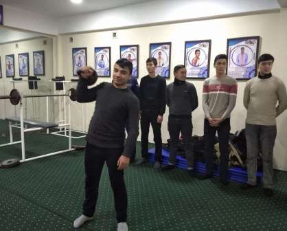 Andijan State Medical Institute hosted a competition for the strongest