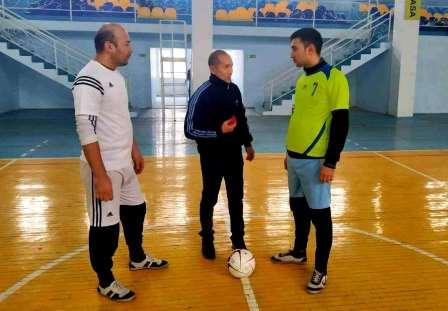 """""""Rektor kubogi"""" uchun mini futbol musobaqasi"""