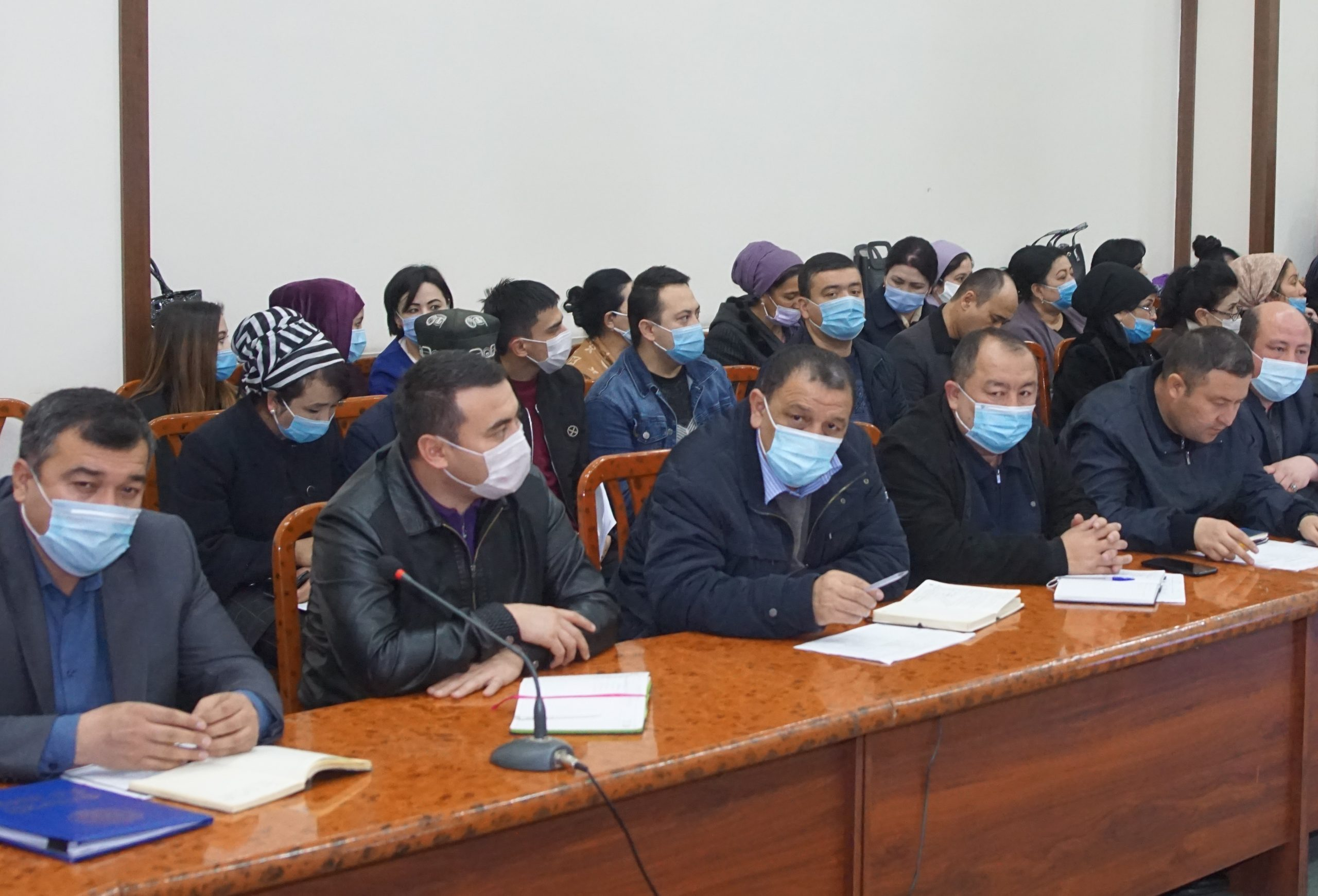 Meeting with Andijan employers