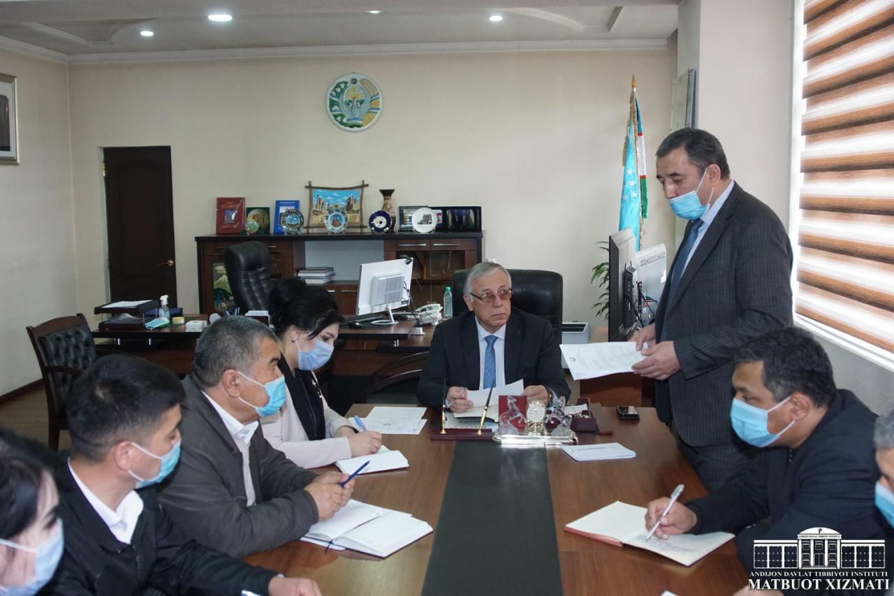 MEETING WITH THE DIRECTORS OF ABU ALI IBN SINO PUBLIC HEALTH TECHNICAL COLLEGE AND MEDICAL COLLEGE