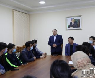 OPEN CONVERSATION OF THE RECTOR AND STUDENTS