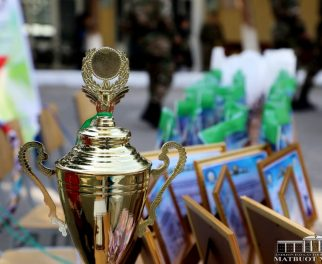 "RECTOR'S CUP UNDER THE MOTTO ""NATIONAL GAMES – GUARANTEE OF HEALTH"""