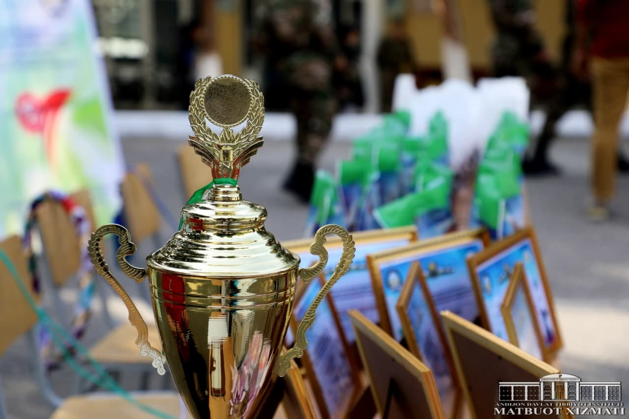 """RECTOR'S CUP UNDER THE MOTTO """"NATIONAL GAMES – GUARANTEE OF HEALTH"""""""