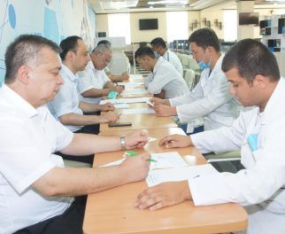 FINAL STATE CERTIFICATION EXAMINATIONS ON THE SPECIALTY SUBJECTS WERE HELD FOR GRADUATE STUDENTS OF MASTER'S DEGREE DEPARTMENT