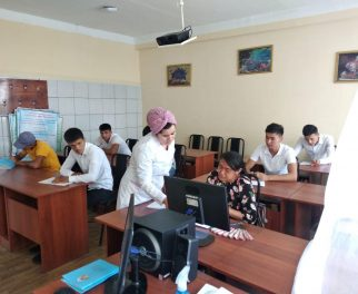 """THE YOUTH OF THE MCG """"KOSHARIK"""" AND """"YAHSHI"""" ATTENDED ENGLISH CLASSES"""