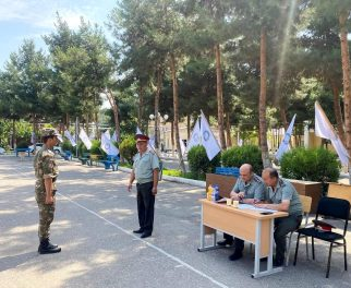 MILITARY GROUP STUDENTS TOOK FINAL CERTIFICATION EXAM