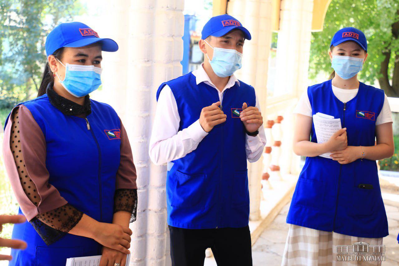 В Мархаматском районе провели пропаганду здорового образа жизни