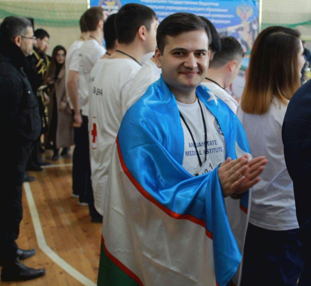"""Ziyayev Ilyosmirzo """"Kelajak bunyodkori""""  medali bilan taqdirlandi"""